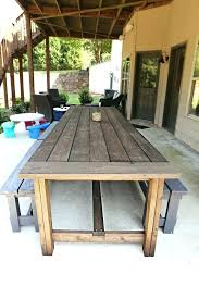 wooden patio table appealing wood patio table plans best ideas about outdoor table wood patio furniture