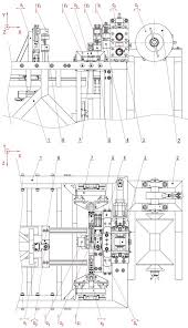 Kinematic Diagram Of Machine 1 Main Frame 2 Unwind Unit 3