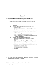 corporate ethics and management theory springer inside
