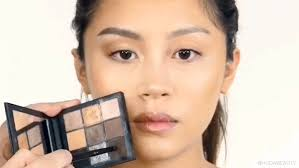 in order to balance out the width of round eyes you want to add some length blend the eyeshadow outward towards the l of your brow always blending