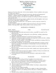 Recruiter Resume Sample Formal Format In Doc Samples Cover Examples