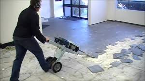 MAKINEX Jackhammer Trolley JHT - FASTEST WAY TO REMOVE FLOOR TILES -  YouTube