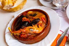 Spicy Parihuela - Peruvian Seafood Soup ...