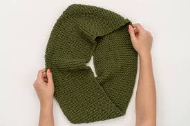 Knitted Infinity Scarf Pattern Cool Decoration
