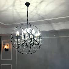 idea rustic orb chandelier for modern crystal orb chandelier lamp lighting rh rustic candle chandeliers vintage