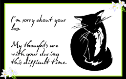 Card For Loss Of Pet Printable Loss Of Pet Greeting Cards Download Them Or Print