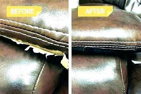 leather couch ling how to repair ling faux leather leather couch ling fix leather sofa repair