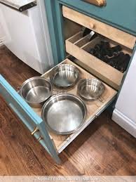 how to build organized and customized diy pull out shelf for cookware lower shelf with
