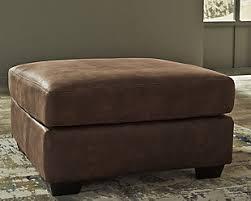 oversized leather ottoman. Fine Leather Large Bladen Oversized Ottoman Coffee Rollover On Leather Ottoman E