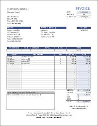 38 Excel Invoice Templates Fresh Www Freewareupdater Com