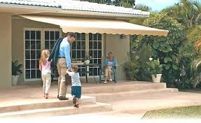 outdoor patio awnings motorized retractable in la by galaxy dries awning warranty