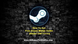 4 easy ways to get free steam wallet codes