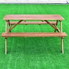 childrens wood picnic table wooden picnic table wood picnic table bench post wooden picnic table