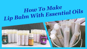 how to make lip balm with essential oils all natural diy recipe