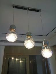 9 of 10 large big edison glass bulb led filament light ceiling chandelier pendant lamp