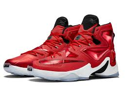 lebron red shoes. release reminder nike lebron xiii 13 strikeawaystrike on court red shoes