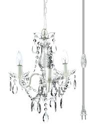 small crystal chandeliers furniture awesome white metal fixtures clear acrylic 3 bulb light
