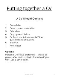 What Do You Put On A Resume What Do You Put On A Resume Create What