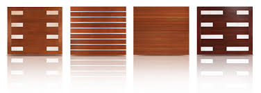 modern garage doors. New Modern Wood Series Modern Garage Doors L