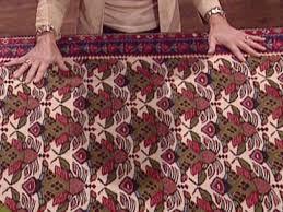 woven kalim rug has ornate pattern