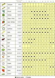 Whats In Season Chart Shencorp Fruit Vegetables