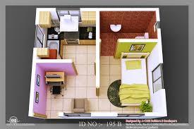 uncategorized modern two bedroom house plan rare inside