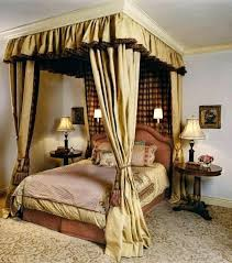 Canopy Curtains For Windows 4 Poster Bed Drapes Four Beds ...