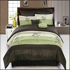 brown and blue comforter sets queen 8 piece portland sage set or king size 13