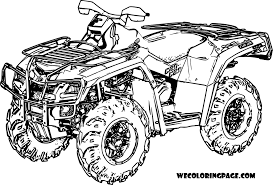 four wheeler coloring pages. Plain Wheeler Attractive Four Wheeler Coloring Pages Quad Bike New Lovely Atv Intended N