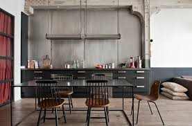 Industrial Kitchen Cabinets Ergonomic Vintage Industrial Kitchen Design For The Modern Home