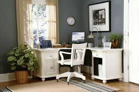 corner office desk ideas. Corner Office Desk Ideas Using White Wooden Writing In L Shape With Drawers And Storage