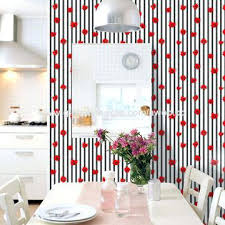 decoration wall paper china vintage red flower wallpaper bedroom living room vertical striped fl wall paper