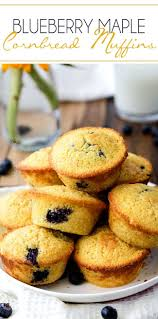 25 Minute Cornbread Muffins With Blueberries Carlsbad Cravings