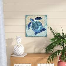 sea turtle graphic art print on canvas on sea turtle canvas wall art with sea turtle wall art canvas wayfair
