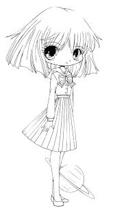 Cute Baby Anime Coloring Pages Cute Wolf Coloring Pages Anime Of A