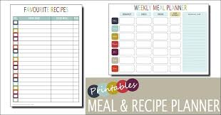 A Free Template For Planning Monthly Budget Household Planner Home ...