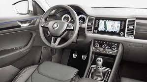 new car release dates india2017 Skoda Kodiaq New Interior Design from India  Auto Trend