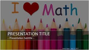 Math Templates Maths Powerpoint Template Tirevi Fontanacountryinn Com