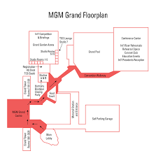 Grand Conference  MGM Grand Las VegasMgm Grand Las Vegas Floor Plan