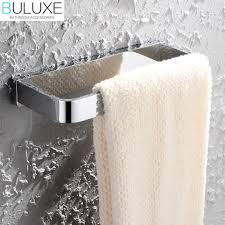 towel rail ring holder bathroom solid brass bathroom accessories towel rack holder rings chrome finish