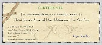 Gift Certificate Wording Gift Certificate Wording Photography Yspages Com Rachellelefevre Us