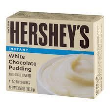 hershey white chocolate pudding. Exellent White Hershey Instant Pudding White Chocolate On M