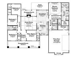 neoteric ideas 9 2000 sqft 4 bedroom bungalow house plans floor