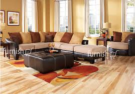 Leather Living Room Sectionals Ajibo 5 Piece Living Room Sectional Bundle Leather Corner Sofas
