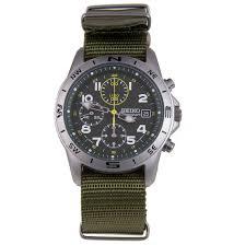 seiko military chronograph watches snd377p1 snd377 seiko chronograph mens military watch snd377p