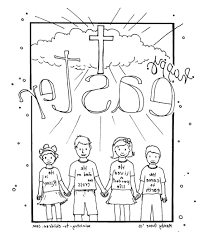 Childrens Church Coloring Pages 9ncm Christian Easter Coloring