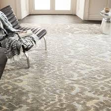projects ideas west elm ikat rug persian style shine platinum textured wool