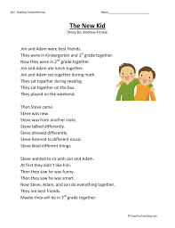 Second Grade Reading Comprehension Worksheets | Page 12 of 14 ...