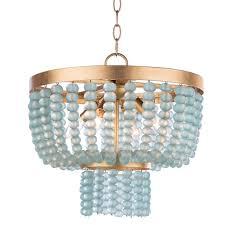 regina andrew design summer glass bead chandelier small