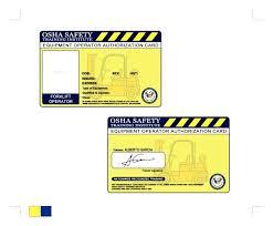 Forklift Operator Certificate Template Finddata Info